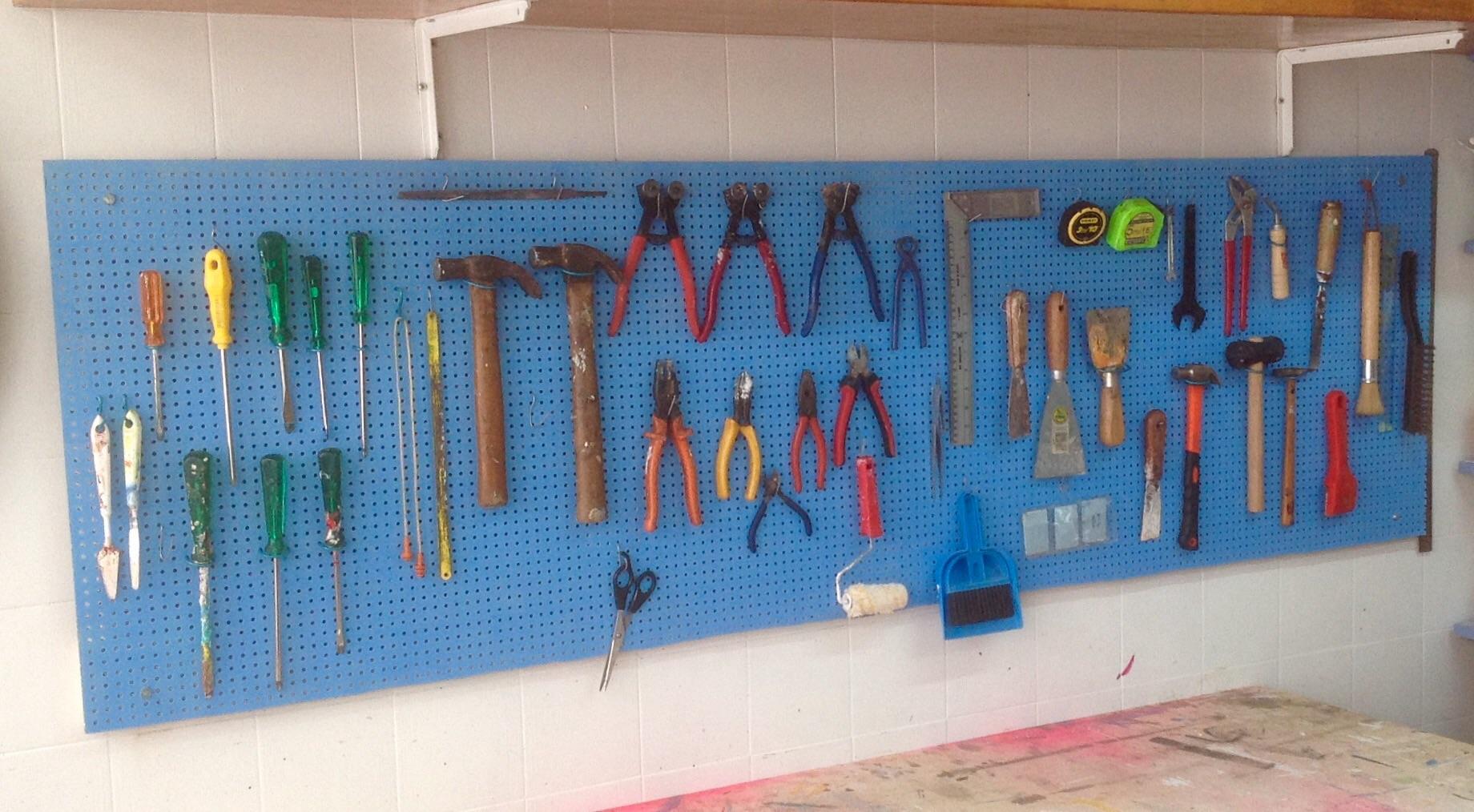 Como fazer um painel de ferramentas – Faça você mesmo – Além da  #376994 1840x1014