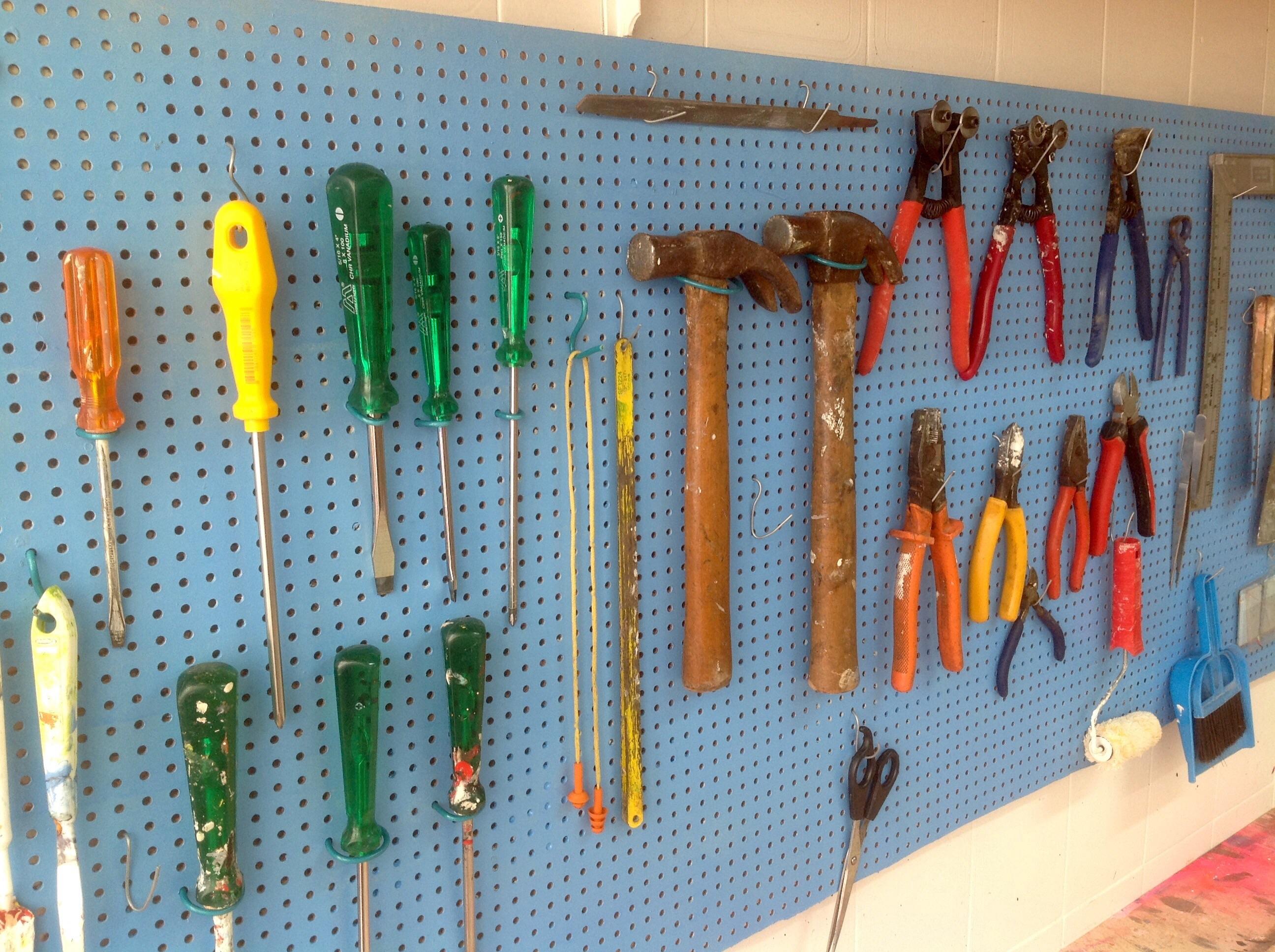 Como fazer um painel de ferramentas – Faça você mesmo – Além da  #B48217 2592x1936