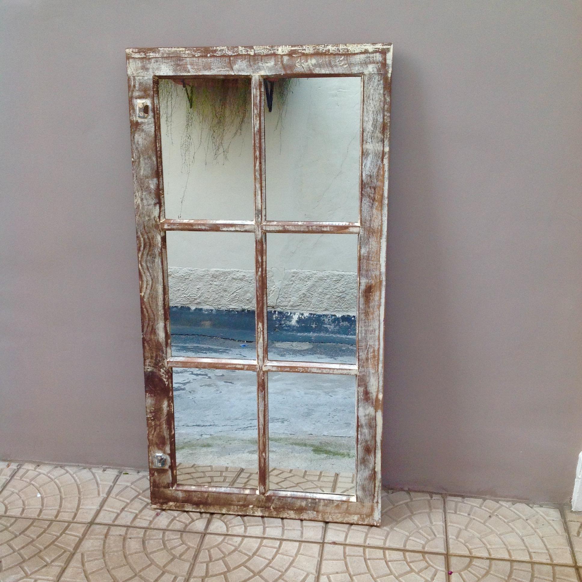Preferência Uma janela mágica, que virou espelho - Faça você mesmo | Além da  UO58