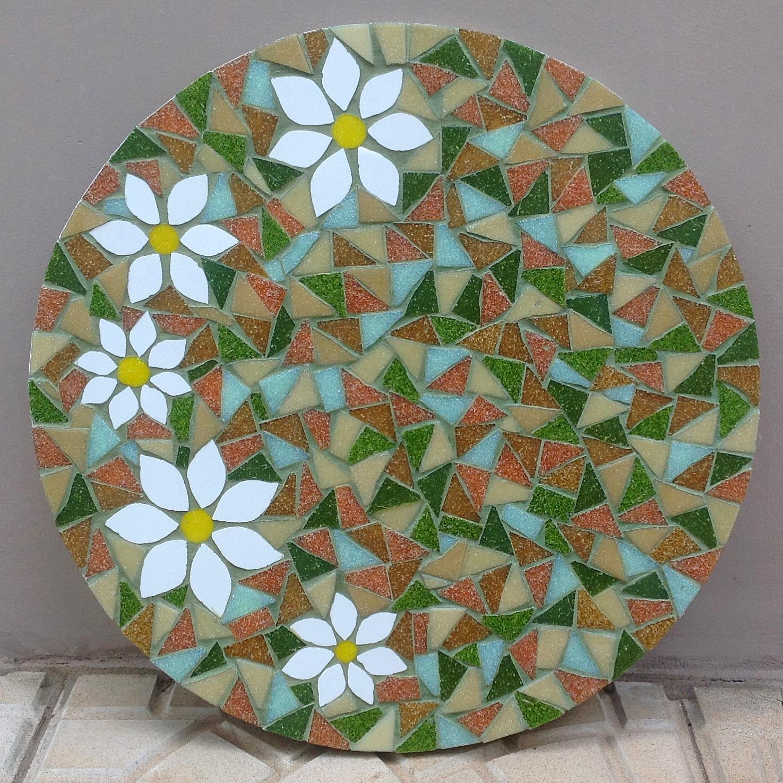 Curso de mosaico 5 aprenda a cortar e lapidar azulejos e for Azulejo mosaico